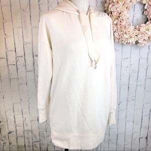 Aerie cream long sleeves hoodie. Small